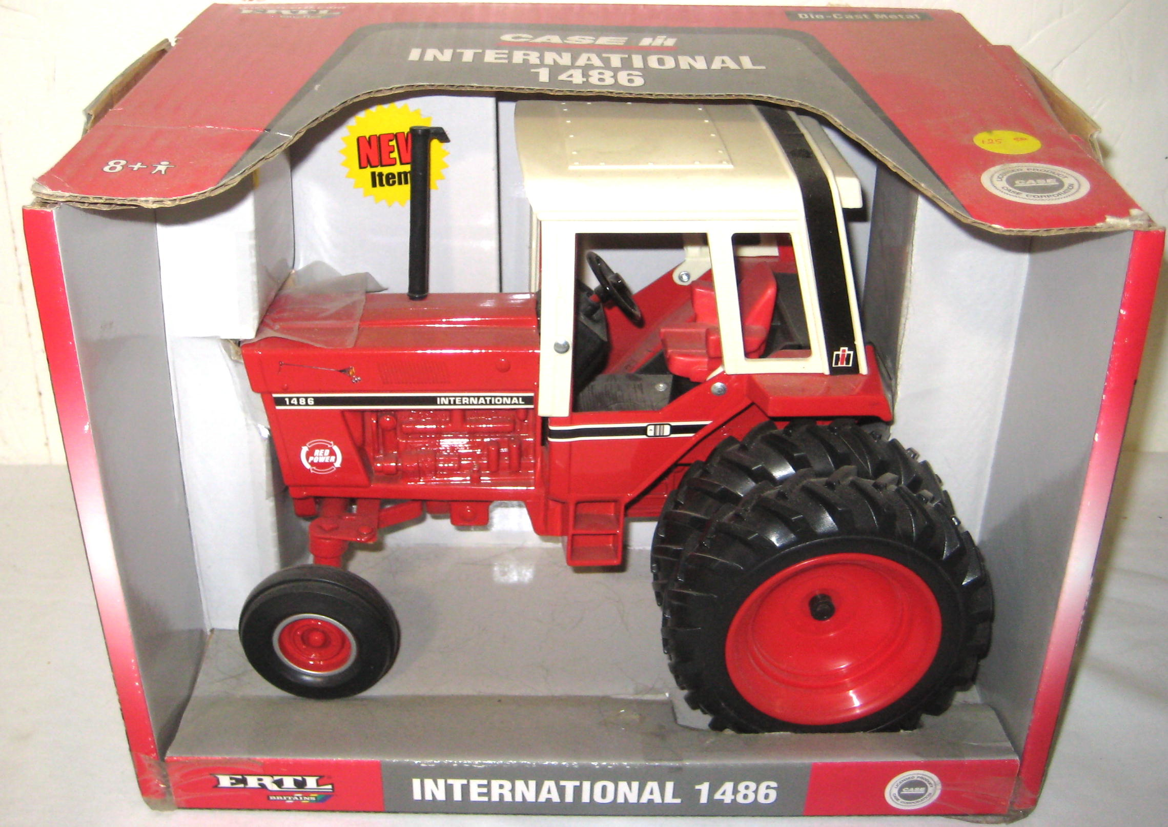 1086 Ih Plowing : Farm toy auction